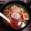 らぁめん8 - 料理写真:昭柚麺(しょうゆめん)大盛700円+100円