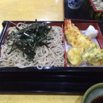 浜松町 更科 - 天ざる  920円