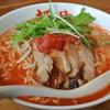 拉麺専門店 麺や - 料理写真:拉麺専門店 麺や・太陽の恵み麺¥750(2015.06)