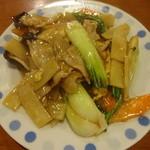 同楽 - キクラゲと肉玉子炒め