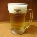 蘭苑菜館 - 生ビール:550円