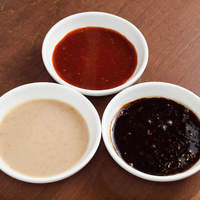 ◆こだわりの餃子のタレ3種◆