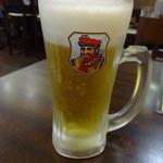 龍龍 - 生ビール:200円