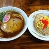 たぬき亭 - 料理写真:半チャンラーメンセット 830円(8%込)
