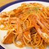 外食家 くじら - 料理写真:カニのトマトクリームスパゲッティ