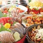 朝獲れ鮮魚 魚鮮水産 - 大漁コース