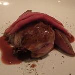 レストラン ラ フィネス - ビュルゴー家のクロワゼ小鴨       230℃1分から常温を16回くらい繰り返す