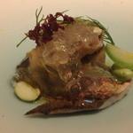 レストラン ラ フィネス - 福知山の鮎と賀茂ナス
