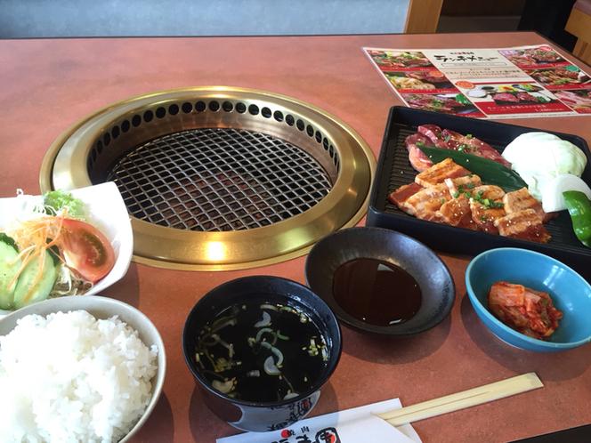 焼肉の福寿園