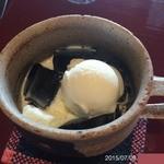 サイトウコーヒー - 自家製珈琲ゼリー(320円)