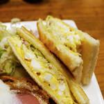 くりすたる - Bランチの卵サンド