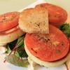 スイート オブ オレゴン - 料理写真:グリルトマトのパンケーキ