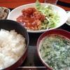ゆたか - 料理写真:日替わり定食500円 唐揚げチリソースがけ