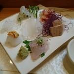 寿し和 - 料理写真:刺身の図