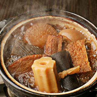 蕎麦つゆのかえしを使った出汁が決め手の「関東炊きおでん」