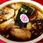 ラーメンつり吉 - チャーシューメン太麺