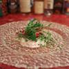 トラットリア・リョウゴク - 料理写真:天然スズキのカルパッチョ☆