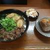 睦ちゃんうどん - 料理写真:⚫︎おまかせA=600円 (肉・ごぼう・わかめ入り)