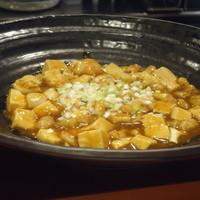 魚介の麻婆豆腐