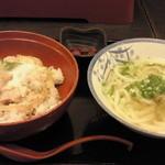 元禄うどん - 料理写真:親子丼セット ¥750