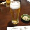 さらしな総本店 - 料理写真:生ビール(570円)