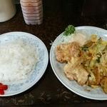 新華苑 - 料理写真:7月11日の日替わり定食。