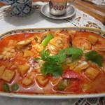ら・ばんだ - 料理写真:海鮮香草カレー♪