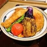 タレカツ - 野菜ヒレカツ丼(タレかつ丼)