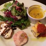 フォンティーナ チーズ ダイニング - 料理写真:限定ランチ2回目 前菜