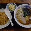 きね新食堂 - 料理写真:チキンライスとラーメン(本日の定食)