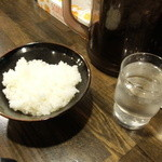 横浜家系ラーメン 中野家 - ライス