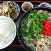 ピコ - 料理写真:中身そば定食