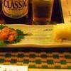 あんぽん - 料理写真:お通し イカの塩辛 白菜漬