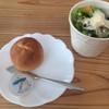 レト カフェ - 料理写真:パンとサラダ