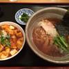 らくらく亭 - 料理写真:醤油ラーメン 麻婆丼 セット