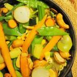 スパイスカフェ - 野菜のビリヤニ