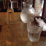 カフェ・ナルー - お水