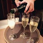 ごきげん - スパークリングワイン3500円くらい