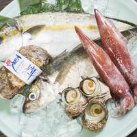 旬の鮮魚料理各種