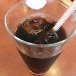 ピッツァ&グリル横浜パラダイス - アイスコーヒー