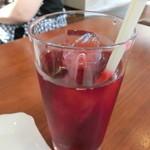 ピッツァ&グリル横浜パラダイス - クランベリージュース