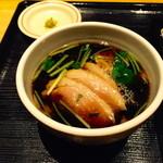 稲田屋 - 鴨汁1