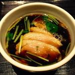 稲田屋 - 鴨汁2