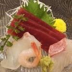 寿司割烹吾妻 - お刺身盛り