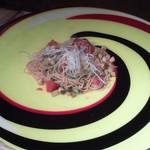 Hi-Bi - トマトと貝柱のパスタ!