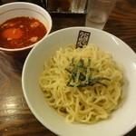 玉五郎 - 辛味つけ麺(並)