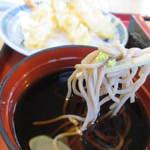 麺勝 - 山葵を少しのせていただきましたがするっと喉を通って暑い日にはもってこいの食事です。