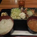 とりしん - ひな鳥の柚子こしょうだれ ¥800→¥500