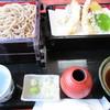 登喜和 - 料理写真:天ざる(並)1200円。