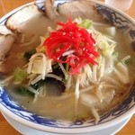 あづまや - 野菜塩タンメン(820円)